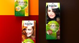 Packaging design für Schwarzkopf Palette Naturals