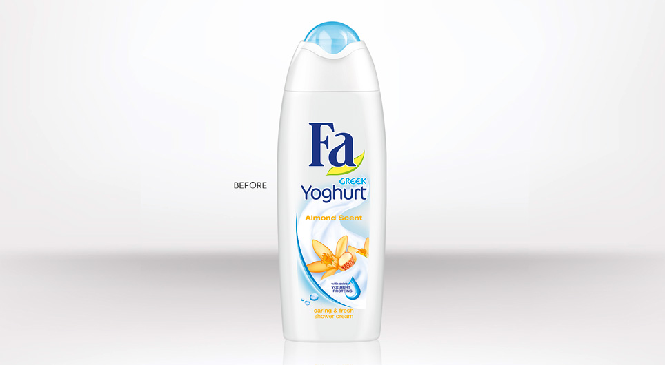 Previous Fa shower cream design bottle