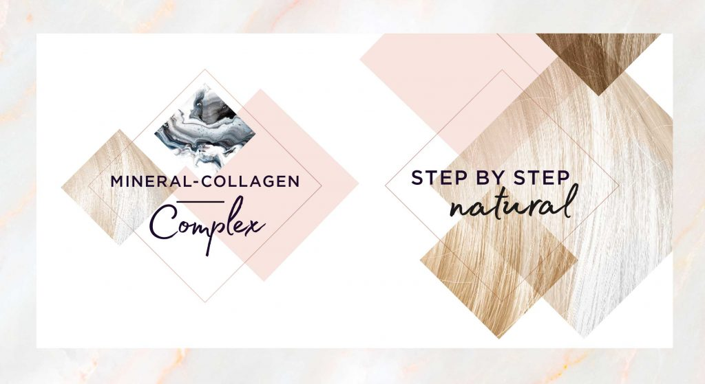 Tone Supreme Mineral-Collagen and step by step visuals