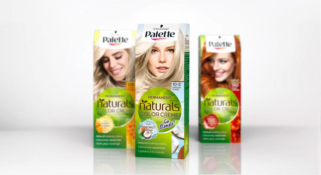 Schwarzkopf Palette Naturals Go Blonde and Baseline