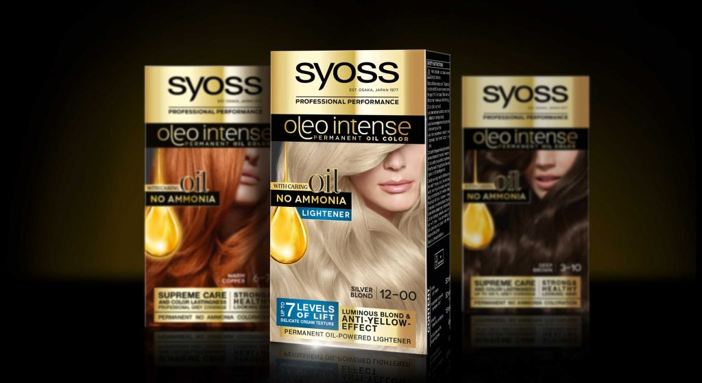 Syoss Oleo Intense Lightener Mood With Baseline Packs