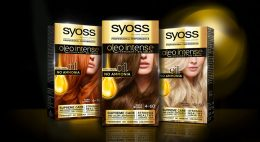 Syoss Oleo Intense Relaunch Design three packs on Mood