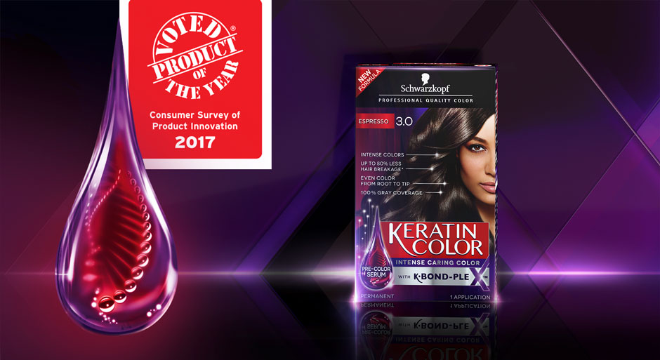 Award Winning Schwarzkopf Keratin Color