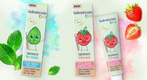 Vademecum bio kids toothpaste range