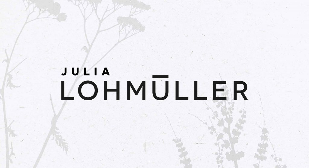 Julia Lohmüller Logo Design