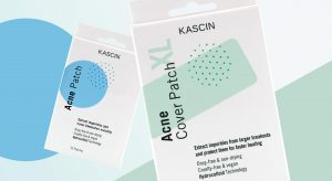 Kascin Hydrocolloid Acne Patches Range Packaging Design Mood