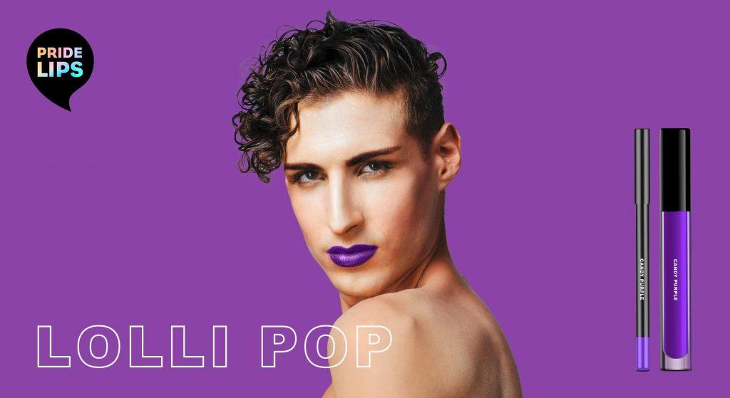 PRIDE LIPS - lolli pop, designed by baries design