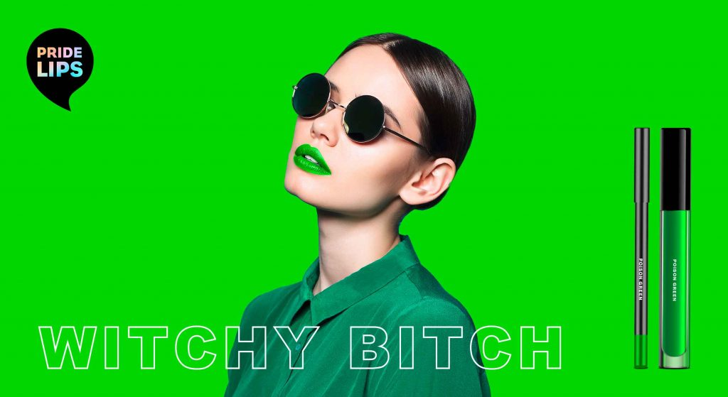 PRIDE LIPS - witchy bitch, designed by baries design